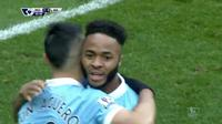 Video highlights gol Raheem Sterling menambah angka 4-0 untuk Manchester City saat melawan Aston Villa, pada Sabtu (05/03/2016).