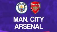 Liga Inggris: Manchester City vs Arsenal. (Bola.com/Dody Iryawan)