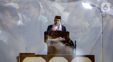 Menteri Agama Fachrul Razi Berikan Ceramah Jumat di Masjid Istiqlal