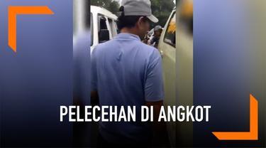 Seorang perempuan asal Garut menghardik seorang kernet angkot yang melakukan pelecehan pada dirinya.