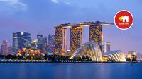 Lokasi yang diminati masyarakat untuk memiliki properti di luar negeri tersebar di sejumlah negara. Peringkat tertinggi sebanyak 31% diduduki Australia dan Singapura.