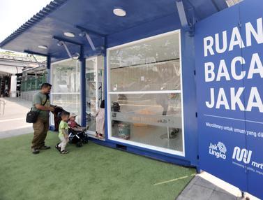 Tingkatkan Literasi di Ruang Baca Jakarta