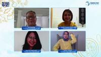 Webinar penerapan gizi seimbang anak untuk meningkatkan imunitas tubu (Dok.Liputan6.com/Komarudin)