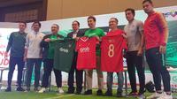 Grab mendukung Timnas Indonesia dan Timnas Indonesia U-19 di Piala AFF 2018 dan Piala AFC U-19 2018. (Bola.com/Zulfirdaus Harahap).