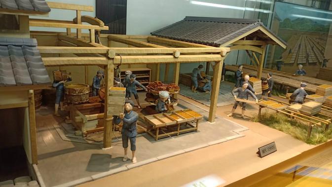 Museum lilin Jepang dan kediaman Kamihaga (Liputan6.com/ Mevi Linawati)