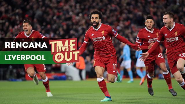 Berita video Time Out kali ini tentang rencana Liverpool jika Mohamed Salah hengkang.
