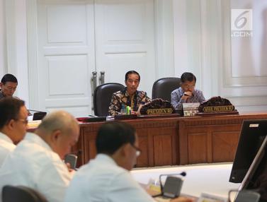 Presiden Jokowi Pimpin Ratas Persiapan Asian Games 2018
