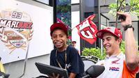 Marc Marquez Bersama Rivaldy (Dok MotoGP)