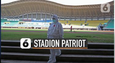 Pemerintah Kota Bekasi mulai mengantisipasi lonjakan kasus Covid-19. Pemkot menyiapkan Stadion Patriot Chandrabhaga sebagai fasilitas kesehatan tambahan.