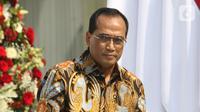 Menteri Perhubungan Budi Karya Sumadi (Liputan6.com/Angga Yuniar)