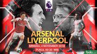 Premier League Arsenal Vs Liverpool (Bola.com/Adreanus Titus)