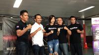 KEJUARAAN - Kejuaraan Muay Thai bertajuk Arena Fiight Night siap digelar di Gandaria City, Minggu (30/5). (Bola.com/Yosef Deny Pamungkas)