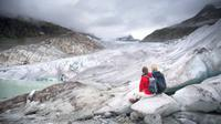 ilustrasi gletser. (iStockphoto)
