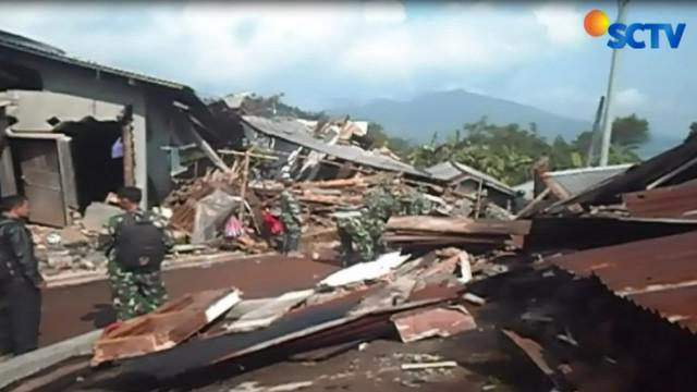 Dari data BPBD Banjarnegara, jumlah bangunan yang rusak akibat gempa sejumlah 316 bangunan yang terdiri dari rumah dan gedung sekokah serta masjid.