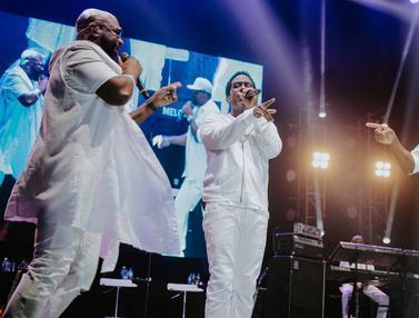 Bawakan 20 Lagu, Boyz II Men Tampil Menghibur Penggemar di Jakarta