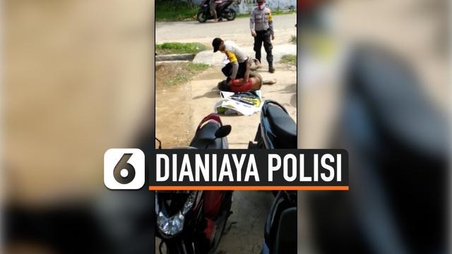 dianiaya polisi