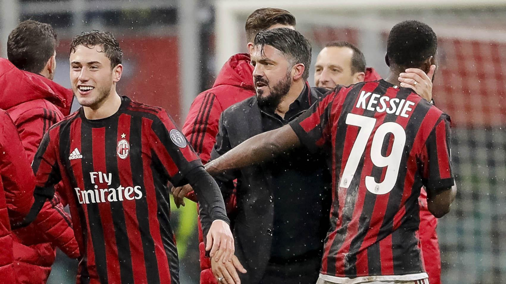 AC Milan ingin teruskan tren positif (AP/Antonio Calanni)