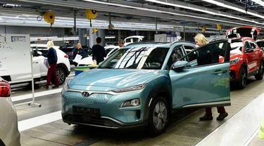Pabrik mobil listrik Hyundai di Ceko
