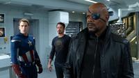 Samuel L. Jackson dalam The Avengers (thecomicbookcast.com)