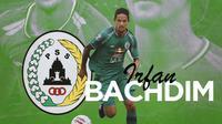 Piala Menpora - Irfan Bachdim PS Sleman (Bola.com/Adreanus Titus)