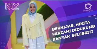 Rahasa Bahagia Nikita Mirzani dapat Dukungan  dari Para Selebriti