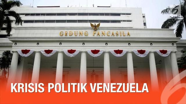 Kementerian Luar Negeri RI merilis sikap resmi terkait krisis politik yang terjadi di Venezuela.