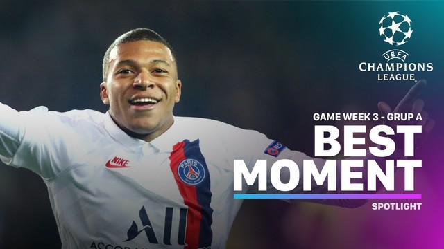 Berita Video Momen Terbaik Liga Champions Matchday 3, Hattrick Kylian Mbappe ke Gawang Club Brugge
