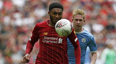 FOTO: Melalui Drama Adu Penalti, Manchester City Raih Community Shield