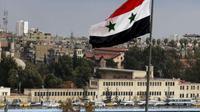 Bendera Suriah (AP/Hassan Ammar)
