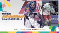 Momen mengharukan di Asian Games 2018. (Bola.com/Dody Iryawan/Peksi Cahyo/Helmi Fitriansyah/Aditia Noviansyah)