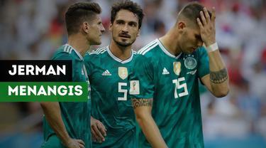 Berita Video Jerman Tersingkir di Piala Dunia 2018, Inilah Reaksi dan Tangis Para Fans