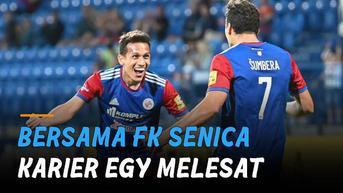 VIDEO: Karier Melesat, Egy Lampaui Capaian di Lechia Bersama FK Senica