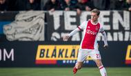 Wonderkid Ajax Amsterdam, Frenkie de Jong, selangkah lagi bergabung dengan Barcelona (Twitter/Frenkie)