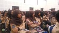 Mandiri Taspen menggelar diskusi bertajuk Edukasi Perbankan dan Literasi Keuangan Sahabat Menuju Masa Depan digelar di SMAN 6 Yogyakarta (Liputan6.com/ Switzy Sabandar)
