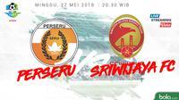 Jadwal Liga 1 2018, Perseru Vs Sriwijaya FC. (Bola.com/Dody Iryawan)