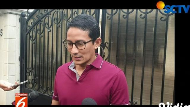 Selain sudah mempercayakan proses hukum kepada tim kuasa hukum, Sandi khawatir jika kehadiran Prabowo-Sandi ke gedung MK, dapat memicu pergerakan massa dari berbagai daerah.