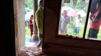 Dampak Gempa Bumi Pangadaran, Sejumlah Rumah Rusak. (Foto: Dokumentasi BPBD Jabar).