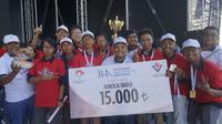 Tim Aksantara ITB boyong juara 2 kompetisi Tübitak UAV di Turki. (Dok. Humas ITB/Huyogo Simbolon)