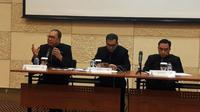 Konferensi pers PT Garuda Indonesia pada Rabu (24/4/2019) (Foto: Liputan6.com/Pramita T)