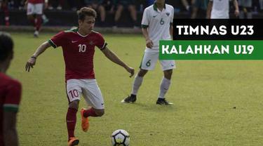 Berita Video Terpopuler 2018, Aksi Timnas Indonesia U-23 Taklukkan Timnas U-19 5-0