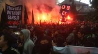 Bobotoh akan melakukan demo ke kantor PT Persib Bandung Bermartabat (Kukuh Saokani)
