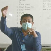 Wakil Sekretaris Gugus Tugas Percepatan Penanganan Covid-19 Kota Surabaya Irvan Widyanto (Foto: Liputan6.com/Dian Kurniawan)
