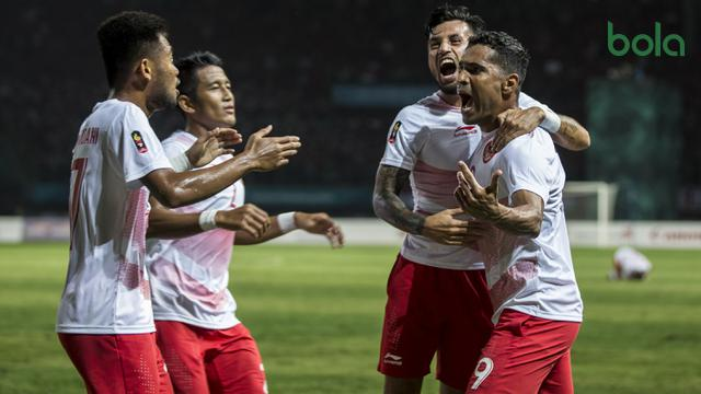 Sepak Bola : Indonesia Vs Laos