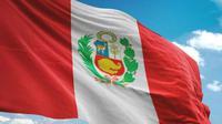 Ilustrasi bendera Peru (AFP Photo)