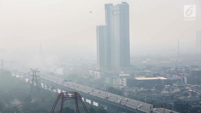 Hasil gambar untuk polusi udara jakarta