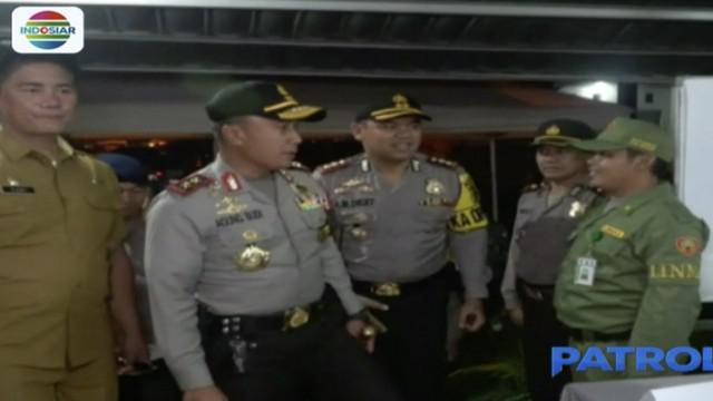 Kapolda juga ingin memastikan kesiapan anggota polisi dalam melakukan pengamanan di setiap TPS.