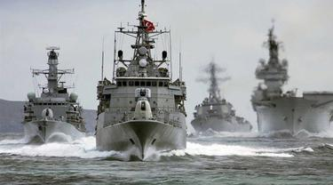 14 Kapal Angkatan Laut Turki 'Hilang' setelah Kegagalan Kudeta