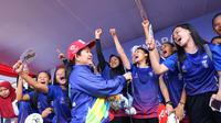 Menko PMK, Puan Maharani melepas peserta Jalan Sehat Asian Games XVIII 2018