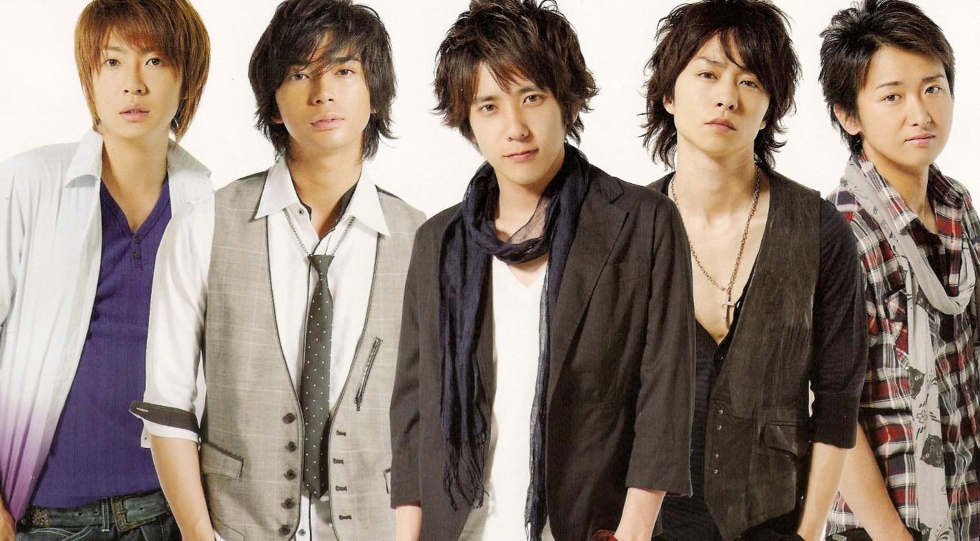 Grup boyband Jepang Arashi.