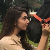 Nabila Syakieb berkuda (Instagram/nsyakieb85)